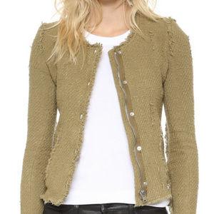 IRO Agnette Jacket in Green Size 40/S